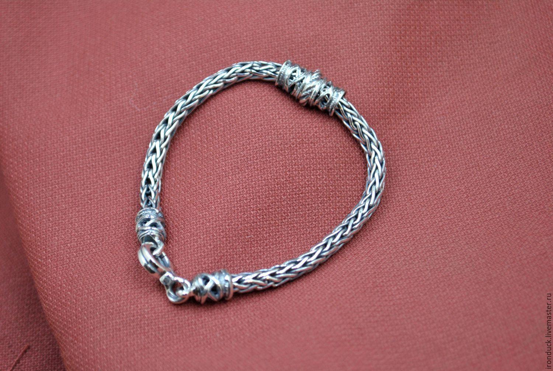 Мужские браслеты лисий хвост