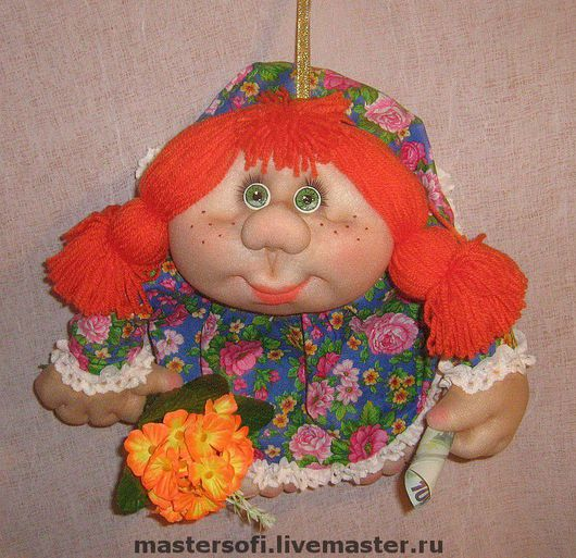 Toy Characters handmade. Livemaster - handmade. Buy Doll Popik 'doll for good luck'.Handmade, exclusive gift