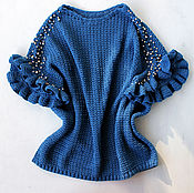 Одежда handmade. Livemaster - original item Pearl tunic