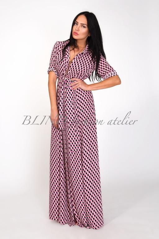 Платья ручной работы. Ярмарка Мастеров - ручная работа. Купить Платье-рубашка 00145. Handmade. Ярко-красный, платье, blind