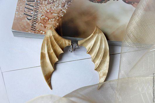 Сережки крылья ангела купить в Москве.