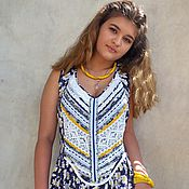 Одежда handmade. Livemaster - original item Boho-dress