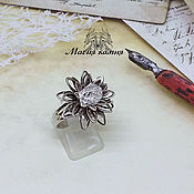 Украшения handmade. Livemaster - original item A diamond ring of Gerkmayer