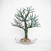 Статуэтки ручной работы. Ярмарка Мастеров - ручная работа Дерево магнитная копилка. Handmade.