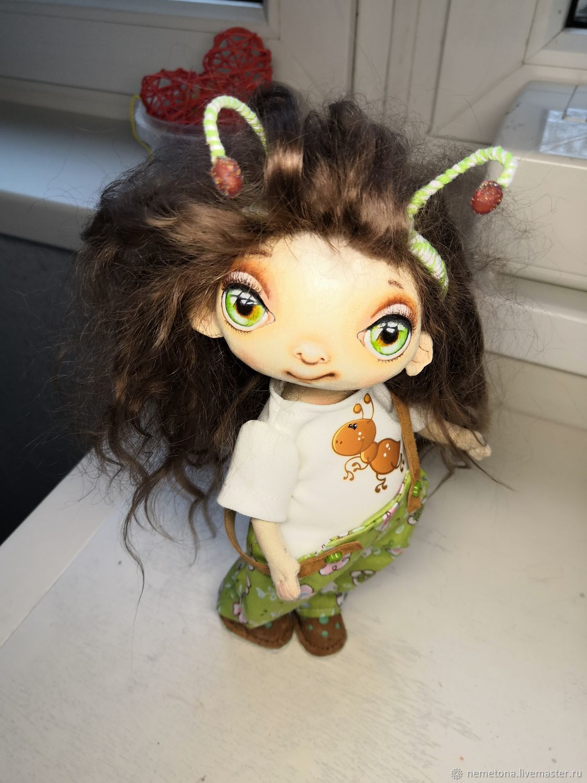 Коллекционные куклы ручной работы. Ярмарка Мастеров - ручная работа. Купить Куколка-муравей. Handmade. Кукла, кукла в подарок