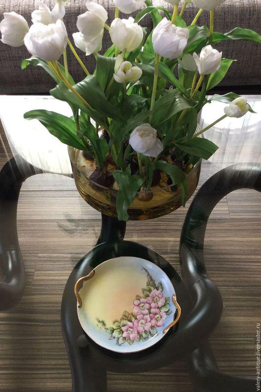 Винтажная посуда. Ярмарка Мастеров - ручная работа. Купить Блюдо Limoges, GDA.. Handmade. Комбинированный, антиквариат, подарок мужчине, старинное