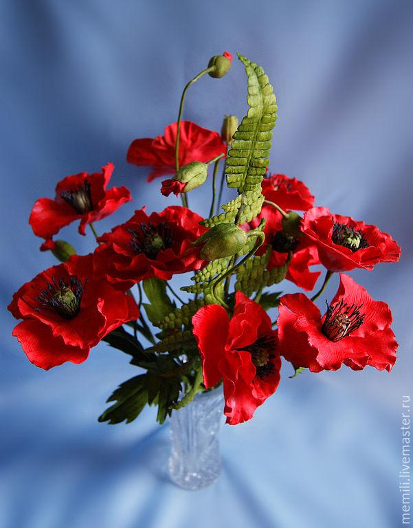 Где купить маки цветы цветы искусственные оптом купить в спб
