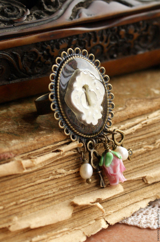 """Кольца ручной работы. Ярмарка Мастеров - ручная работа. Купить Кольцо """"Ах, Алиса..."""". Handmade. Купить необычное кольцо"""