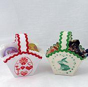 Подарки к праздникам handmade. Livemaster - original item Baskets for Easter eggs.. Handmade.