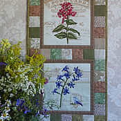 Картины и панно handmade. Livemaster - original item Patchwork panel of Old herbarium.. Handmade.