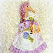 Куклы и игрушки ручной работы. Ярмарка Мастеров - ручная работа Лошадка текстильная Тереза:). Handmade.