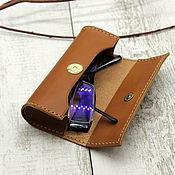 Сумки и аксессуары handmade. Livemaster - original item Eyeglass case leather. Handmade.
