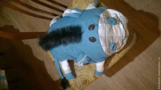 Игрушки животные, ручной работы. Ярмарка Мастеров - ручная работа. Купить Льняные подушки. Handmade. Разноцветный, подушка декоративная