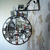 """Для дома и интерьера ручной работы. Ярмарка Мастеров - ручная работа Часы настенные """"Старый Лондон"""". Handmade."""