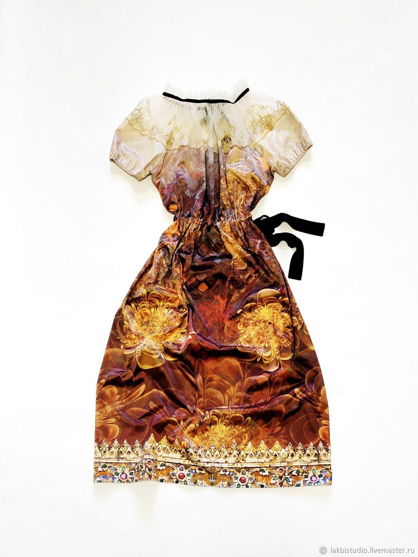 """Платье в стиле бохо """"Капризы солнца"""", Платья, Санкт-Петербург,  Фото №1"""