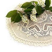 Для дома и интерьера handmade. Livemaster - original item Openwork round napkin!. Handmade.