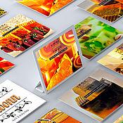Услуги ручной работы. Ярмарка Мастеров - ручная работа Сайт — визитка. Handmade.