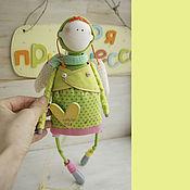 Куклы и игрушки ручной работы. Ярмарка Мастеров - ручная работа летательный ангелок. Handmade.