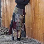 Одежда ручной работы. Ярмарка Мастеров - ручная работа Юбка-1. Handmade.