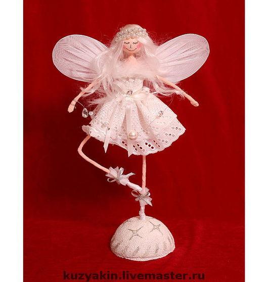 """Сказочные персонажи ручной работы. Ярмарка Мастеров - ручная работа. Купить Кукла """"Ангелочек"""". Handmade. Кукла, пластика, интерьерная, ангел"""