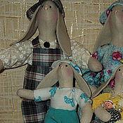 Куклы и игрушки ручной работы. Ярмарка Мастеров - ручная работа Дружное семейство. Handmade.