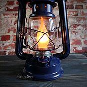 handmade. Livemaster - original item Kerosene lamp electric table lamp loft kerosene lamp. Handmade.