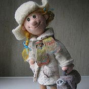 Куклы и игрушки ручной работы. Ярмарка Мастеров - ручная работа кукла Юлька. Handmade.