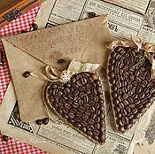 Для дома и интерьера ручной работы. Ярмарка Мастеров - ручная работа Кофейный конверт. Handmade.