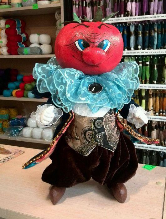 """Сказочные персонажи ручной работы. Ярмарка Мастеров - ручная работа. Купить Кукла """"синьор Помидор"""". Handmade. Авторская кукла"""