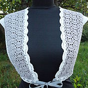 Одежда handmade. Livemaster - original item Bolero crochet Pansies. Handmade.
