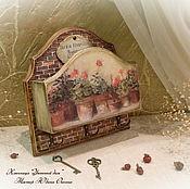"""Ключницы ручной работы. Ярмарка Мастеров - ручная работа Ключница """" Уютный дом """". Handmade."""