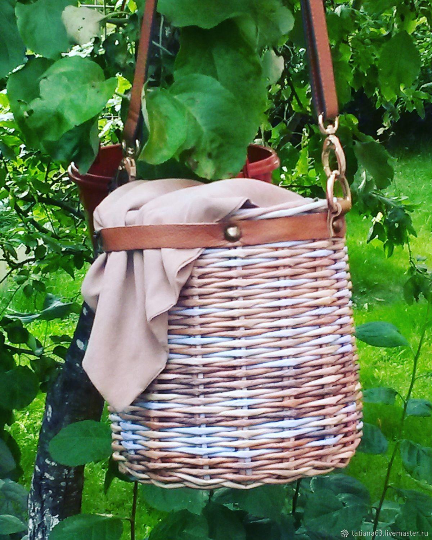 Эко-сумка плетеная из бумаги, Пляжная сумка, Санкт-Петербург,  Фото №1