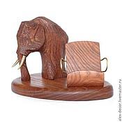 Сувениры и подарки ручной работы. Ярмарка Мастеров - ручная работа Подставка под смартфон Mammoth. Handmade.