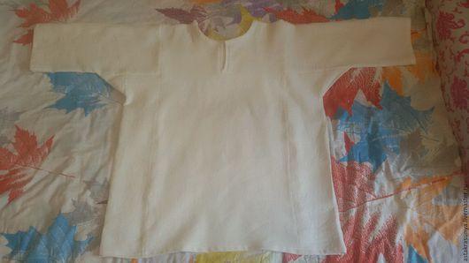 Одежда ручной работы. Ярмарка Мастеров - ручная работа. Купить Мужская рубашка. Handmade. Мужская рубаха, рубаха из льна