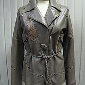 """Одежда ручной работы. Ярмарка Мастеров - ручная работа Кожаная куртка """" Косуха"""". Handmade."""