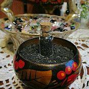 Фен-шуй и эзотерика handmade. Livemaster - original item Amulet Thursday salt in a bottle to protect against the evil eye and damage. Handmade.