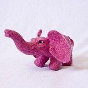 Куклы и игрушки ручной работы. Ярмарка Мастеров - ручная работа Розовый Слон. Handmade.