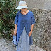 Одежда ручной работы. Ярмарка Мастеров - ручная работа Платье французское  с косынкой. Handmade.
