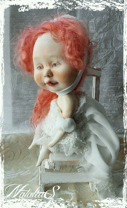 """Коллекционные куклы ручной работы. Ярмарка Мастеров - ручная работа. Купить КоролевиШна """"Снежных гор""""( авторская кукла). Handmade. Королева"""