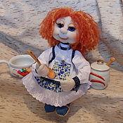 Мягкие игрушки ручной работы. Ярмарка Мастеров - ручная работа Домовушка для интерьера дома. Handmade.