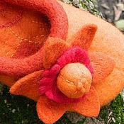 Обувь ручной работы. Ярмарка Мастеров - ручная работа Гранатов цвет. Handmade.