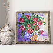 Картины и панно handmade. Livemaster - original item Painting still life