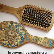 Для дома и интерьера handmade. Livemaster - original item The mirror and comb