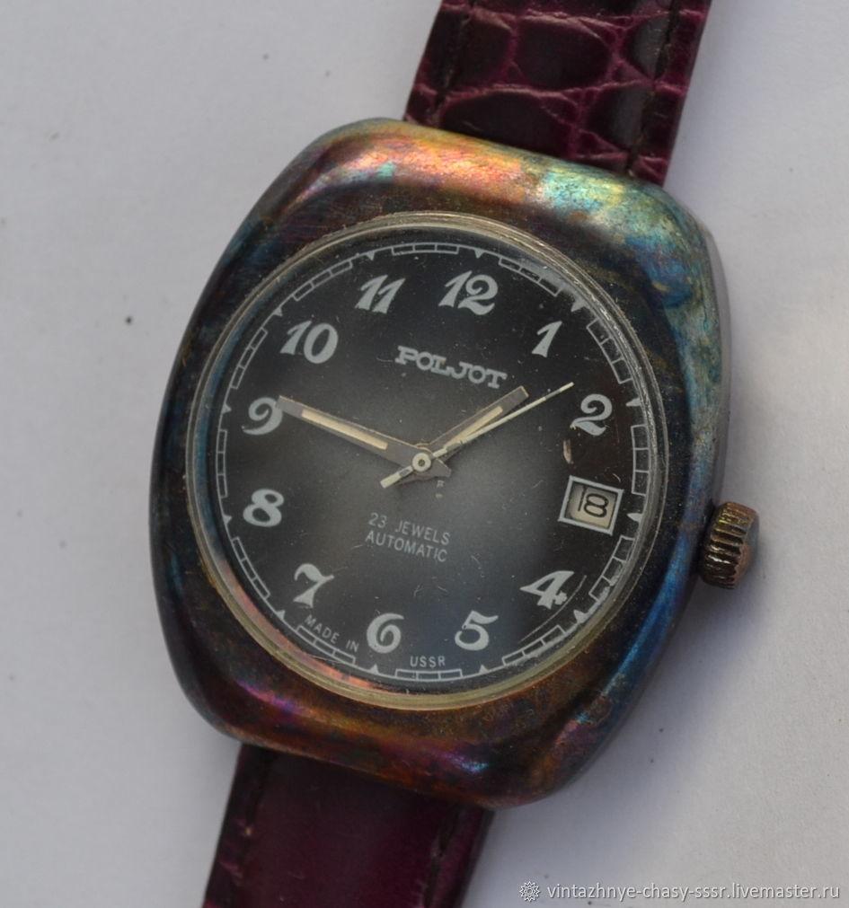 Часы Полет и ЗИМ с ювелирным покрытием, Часы наручные, Москва,  Фото №1