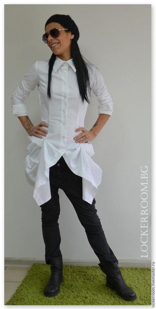 Блузки ручной работы. Ярмарка Мастеров - ручная работа. Купить Рубашка Magnetic. Handmade. Рубашка, модная рубашка, стильная рубашка