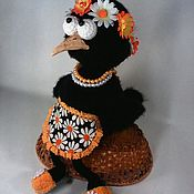 Куклы и игрушки ручной работы. Ярмарка Мастеров - ручная работа Ворона Наташка. Handmade.