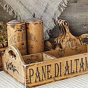 Для дома и интерьера handmade. Livemaster - original item Box for kitchen