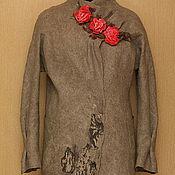 Одежда ручной работы. Ярмарка Мастеров - ручная работа Цветы на камнях. Handmade.