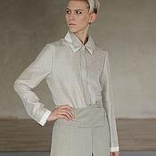 "Одежда handmade. Livemaster - original item elegant blouse ""equilibrium"". Handmade."