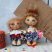 Куклы и игрушки ручной работы. Ярмарка Мастеров - ручная работа ПУГОВКИ . Крошки - ангелочки.. Handmade.